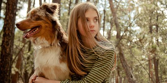 Photo: Young girl with dog / Joel Hawkins/Getty Images 