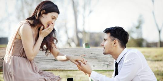 Photo: College age women getting engaged / Cavan Images/Getty Images