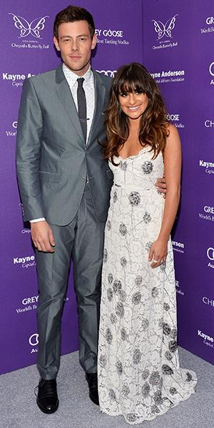 Cory Monteith and girlfriend Lea Michele arrive at the 12th Annual Chrysalis Butterfly Ball on June 8 in Los Angeles, CA (Amanda Edwards/WireImage/Getty Images)