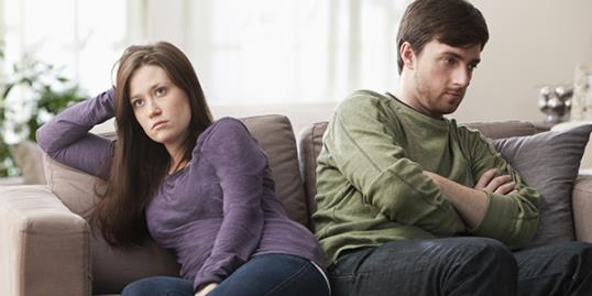 Unhappy couples too scared to divorce / Jose Luis Pelaez Inc/Getty Images