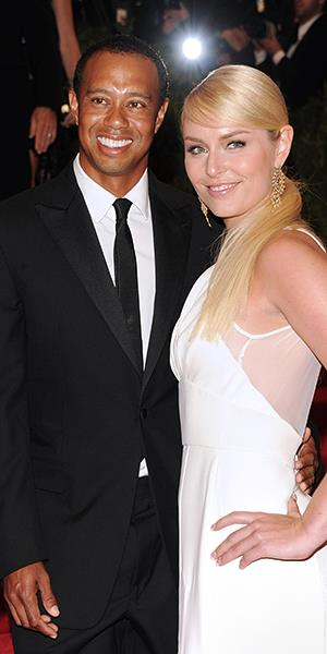 Golfer Tiger Woods and skier Lindsey Vonn (Evan Agostini/Invision/AP)