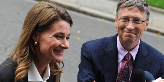 File photo of Bill and Melinda Gates / (WENN)