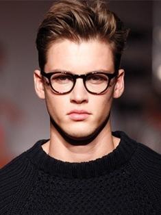 short sides long fringe men haircut )