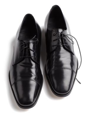Ferragamo dress shoes // Photo: courtesy of GQ