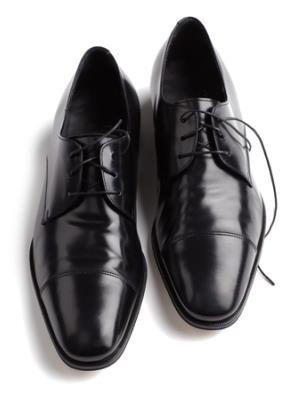Ferragamo dress shoes // Photo: courtesy of GQ