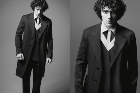 Aaron Taylor-Johnson // Photo: Prada