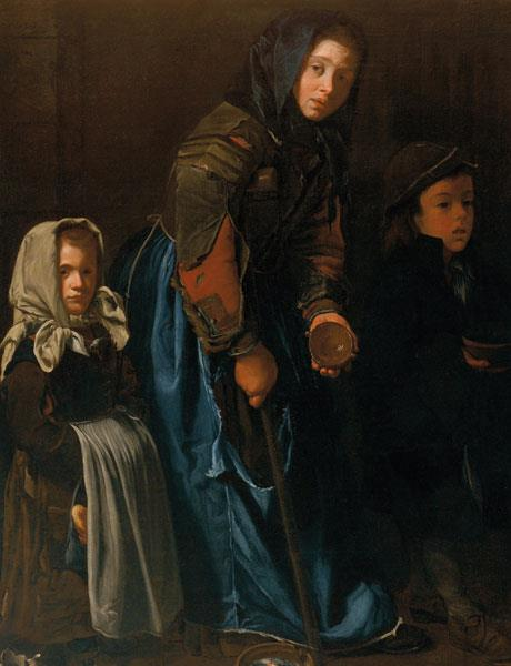 'Woman Begging with Two Children' by an anonymous artist // Image: courtesy of Details
