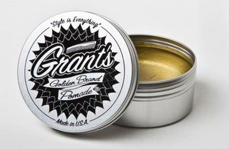 Grant's Golden Brand Pomade // Photo: courtesy of Details