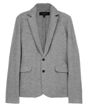 A boiled wool jacket // Photo: courtesy of GQ