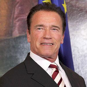 Former California Gov. Arnold Schwarzenegger is a Republican. A new study suggests that physically strong men may be more politically conservative.