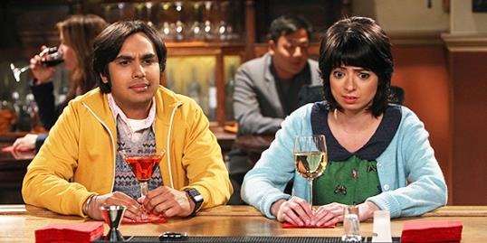 Raj and Lucy on