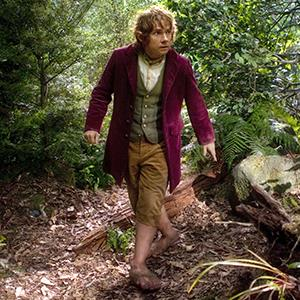 Hobbit feet: Bilbo Baggins in