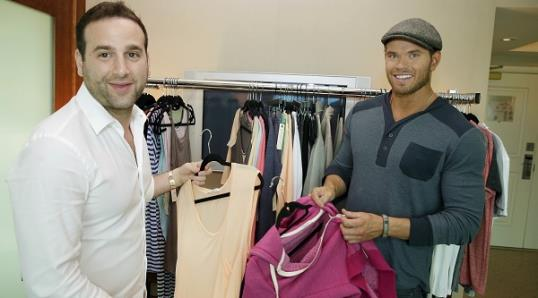 Kellan Lutz has a new fashion line, Abbot + Main.
