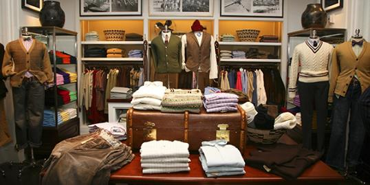 Photo: ​​The Ralph Lauren Men's Shop at Saks Fifth Avenue (Astrid Stawiarz/Getty Images)
