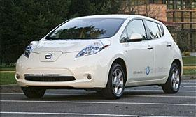 Nissan Leaf (c) MSN Autos