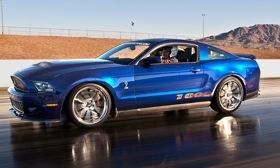 The Shelby 1000 comes in a 950-hp street version and a 1,100-hp track version. Photo by Shelby American.