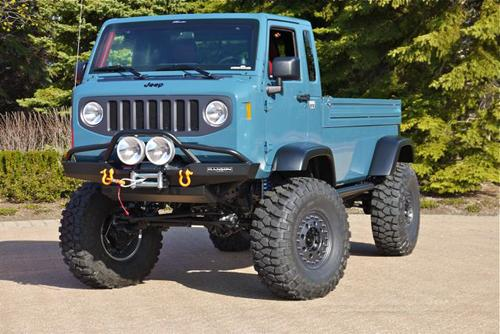 Jeep Mighty FC Concept. Image by Ben Wojdyla, courtesy Popular Mechanics.
