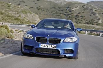 2012 BMW M5. Image courtesy BMW.