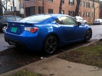 2013 Subaru BRZ. Image by Sam Smith.