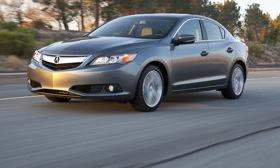 Acura will return to the entry-luxury segment when the ILX small sedan reaches showrooms in May. Photo by Acura.