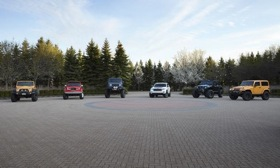 Jeep showed off six vehicles in Michigan on Tuesday. Photo by Jeep..