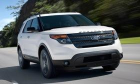 2013 Ford Explorer Sport. Photo by Ford.