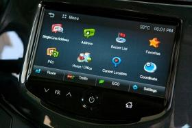 GogoLink Nav App for Chevy MyLink. Photo courtesy of General Motors.