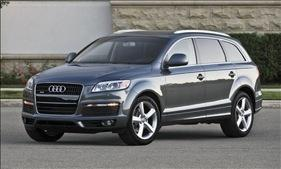 The Audi Q7. Photo courtesy of Audi.