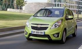 The Chevy Spark. Photo by Chevrolet.