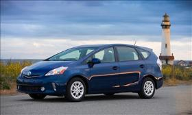 Prius V Photo by Toyota.