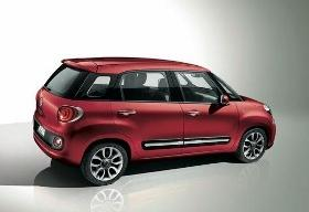 Fiat 500L. Photo courtesy of Chrysler.