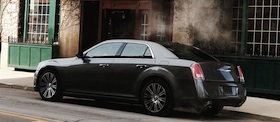Chrysler 300. Photo courtesy of Chrysler.