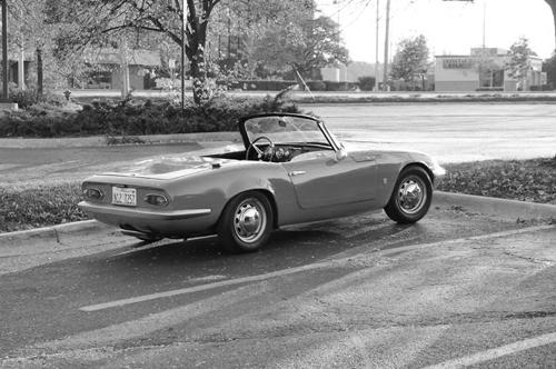 Sam Smith Lotus Elan. Image by Sam Smith.