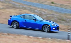 Subaru priced the BRZ coupe at $26,245. Photo by Subaru.