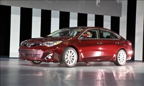 The 2013 Toyota Avalon. Photo by Rick Wait.