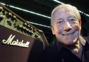 Jim Marshall. Image courtesy Marshall Amplification.