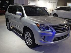 2013 Lexus LX 570 (Clifford Atiyeh/MSN Autos)