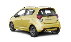 Chevy showed the 2013 Spark at the New York auto show. Photo by Chevy.&#xA;