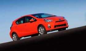 In 2011, 60 percent of Prius owners back in the market bought a Toyota brand vehicle, Polk said in a study. Photo by Toyota.&#10;