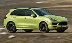 The 2013 Porsche Cayenne GTS is powered by a V8. Photo by Porsche.&#10;