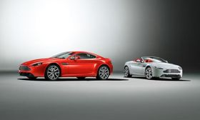 The 2012 Aston Martin V8 Vantage Coupe and Roadster. Photo by Aston Martin.