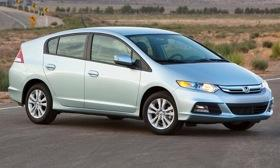 The Zipcar car-sharing fleet will get more Honda Insight hybrids. Photo by Honda.