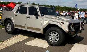 Lamborghini built the LM002 SUV from 1986 to 1993. Photo courtesy of Autoweek.