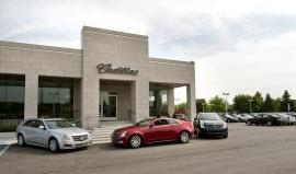 Cadillac dealership. Photo by General Motors.