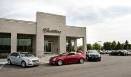 Cadillac dealership. Photo by General Motors.