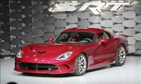 SRT is auctioning off the first production Viper at the Barrett-Jackson auction in Orange County. Photo by MSN Autos.