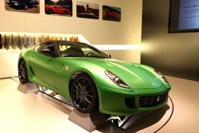 The hybrid Ferrari 599. Photo courtesy of Car and Driver.