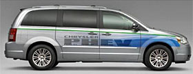 Chrysler Town &amp; Country Plug-in Hybrid, (c) Chrysler