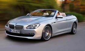 The 2012 BMW 6-Series convertible. Photo by BMW.