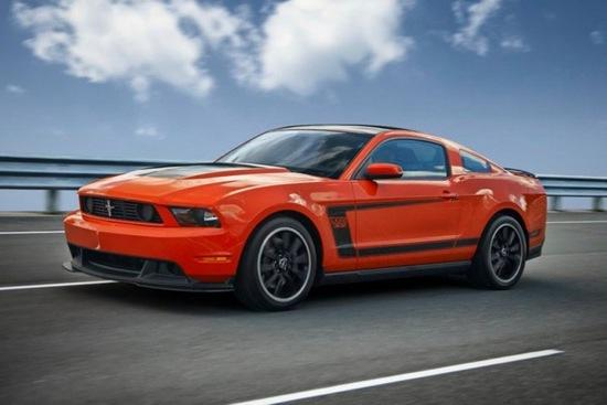 The Ford Mustang Boss 302. Photo by Ford.